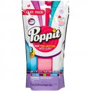 Poppit Soft 'n' Lite Air-Dry Clay Pack - White - Light Pink - Mint