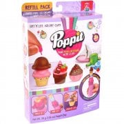 Poppit Soft 'n' Lite Air-Dry Clay Refill Pack - Poppit Mini Ice Cream