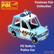 Postman Pat Vehicles PC Selby's Police Car
