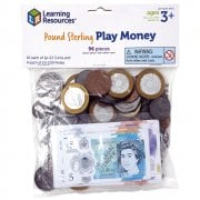 Pretend & Play Pretend & Play HM Treasury Approved UK Money 96 Piece pack