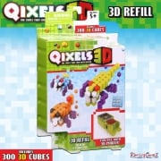 Qixels 3D Refill Theme Pack - Alien Strikers