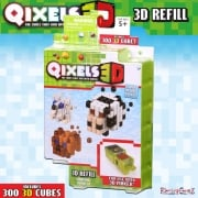 Qixels 3D Refill Theme Pack - Animal Ranch