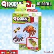 Qixels 3D Refill Theme Pack - Bugs Outbreak