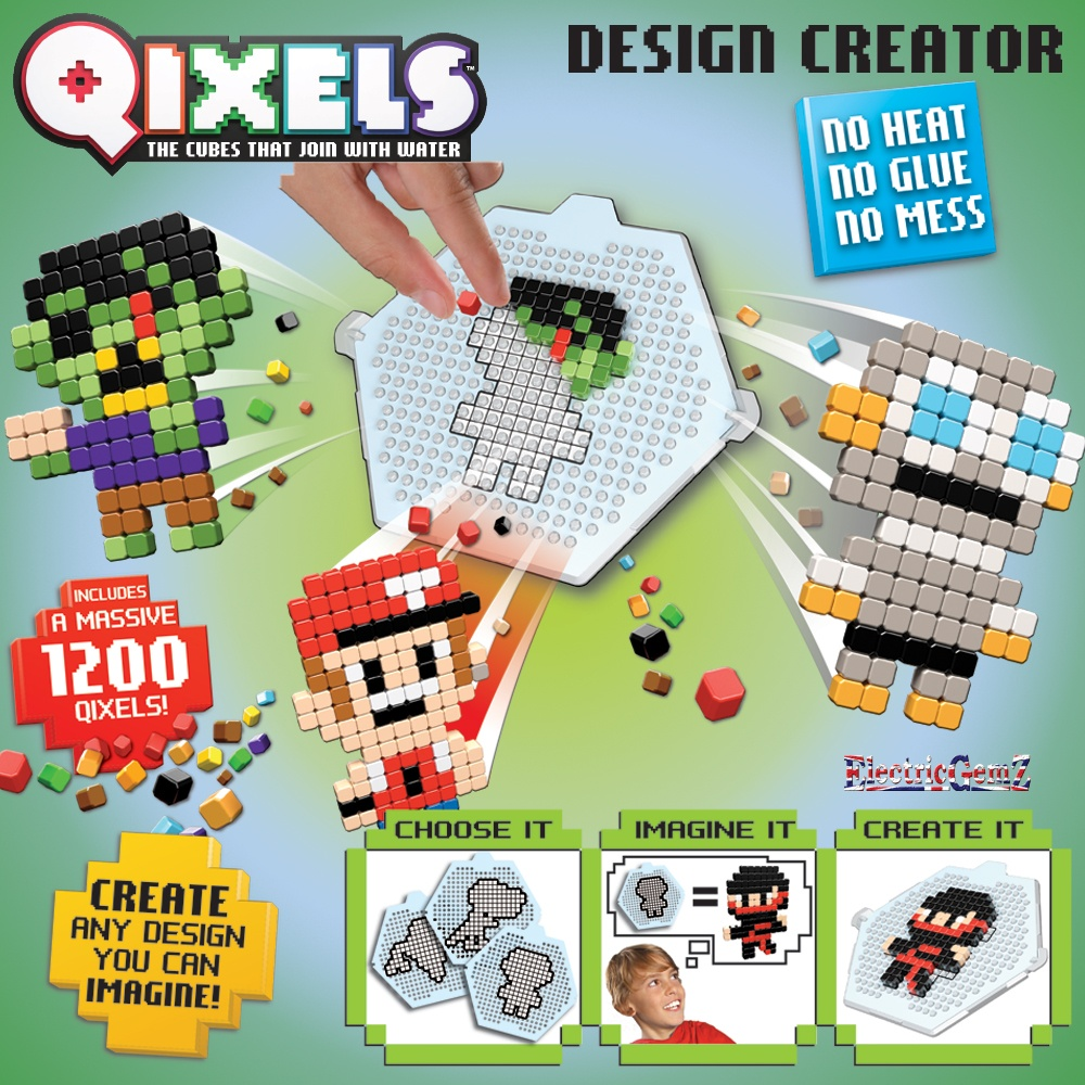 Pokemon qixels designs easy images pokemon images for Blue print creator