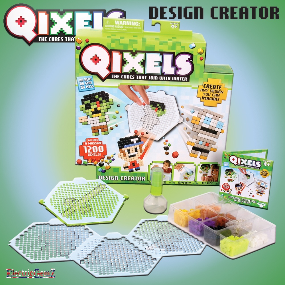 Who Is Talking About 57 Distinct House Electrical Design: Qixels Cubes Design Creator With 1200 Qixels