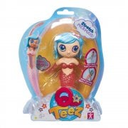 Qteez Stretch Mermaid - Blue Hair & Pink Body