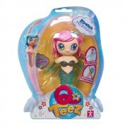 Qteez Stretch Mermaid - Pink Hair & Green Body