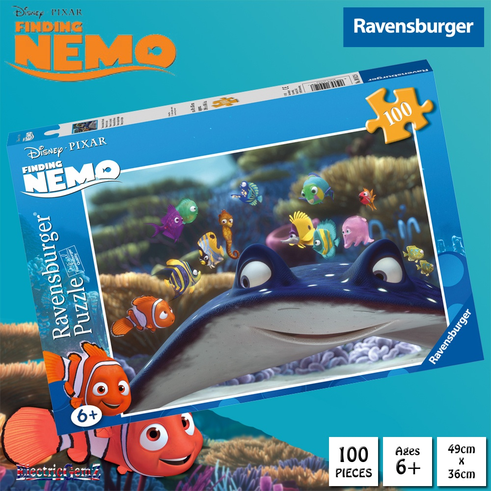 ravensburger finding nemo 100 piece jigsaw puzzle. Black Bedroom Furniture Sets. Home Design Ideas
