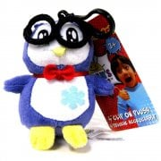 Ryan's World 4in Clip-On Plush - Peck the Penguin