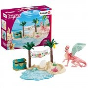Schleich Bayala Dragon Island with Treasure