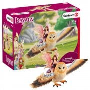 Schleich Bayala Fairy in Flight on Glam-Owl