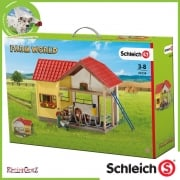 Schleich Farm Life Barn with Animals and Accessories
