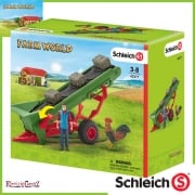 Schleich Farm World Hay Conveyor with Farmer