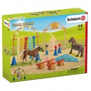 Schleich Farm World Pony Agility Training Set