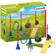 Schleich Farm World Puppy Agility Training Set