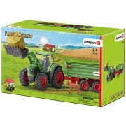 Schleich Farm World Tractor with Trailer