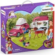 Schleich Horse Club 42535 Horse Adventures with Car and Trailer