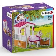 Schleich Horse Club Horse Stall with Lusitano Mare