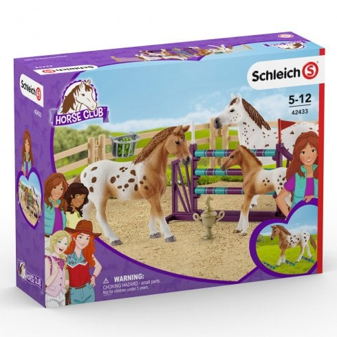 Schleich Horse Club Lisa's Tournament Training Set