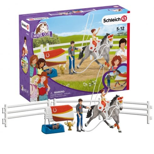 Schleich Horse Club Mia's Vaulting Set