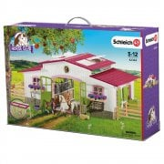 Schleich Horse Club Riding Centre with Rider and Horses