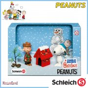 Schleich Peanuts Collection - Christmas Scenery Pack