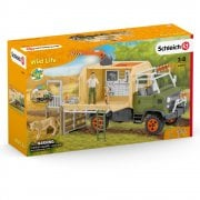 Schleich Wild Life Animal Rescue Large Truck