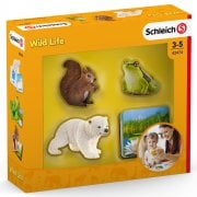 Schleich Wild Life Flash Cards with Animal Figurines