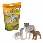 Schleich Wild Life Mother Wolf with Pups