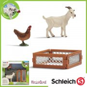 Schleich World of Nature Farm Life Mini-Playset - Goat & Hen
