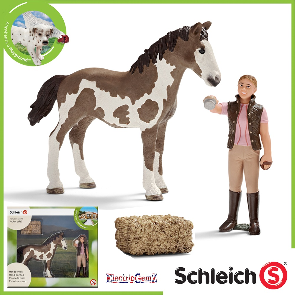 point horses schleich