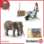Schleich World of Nature Wild Life Elephant Care Set