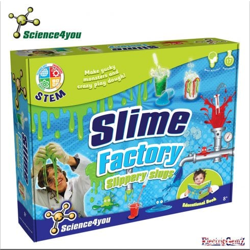 Science4you Slime Factory - Slippery Slugs