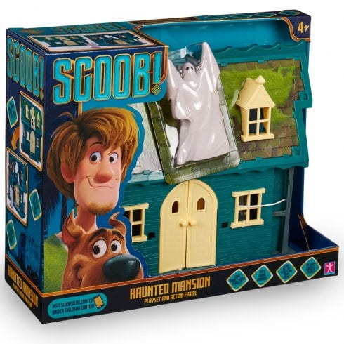 Scoob! Haunted Mansion Playset & Ghost Action Figure