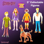 Scooby-Doo 5in Collectable Figures - Mystery Solving Crew