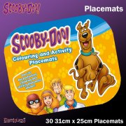 Scooby-Doo Colouring and Activity Placemats