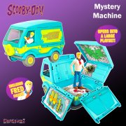 Scooby-Doo Mystery Machine Playset with 5in Fred Figure