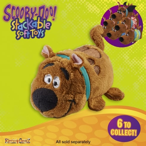 Scooby-Doo Stackable Soft Toy - Scooby-Doo