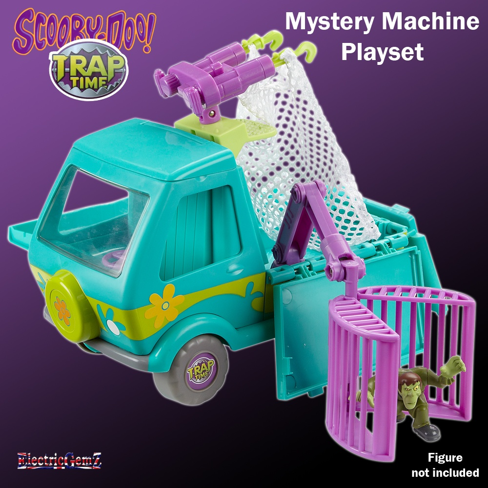 scooby doo trap time mystery machine