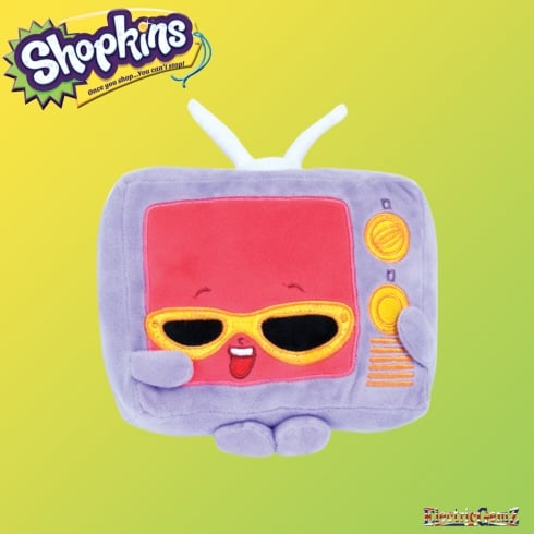 Shopkins 20cm Plush Series 3 - Teenie TV