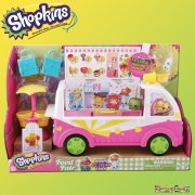 Shopkins Food Fair Scoops Ice Cream Treat Truck Playset