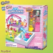 Shopkins Happy Places Happy Home Pool & Sundeck Playset