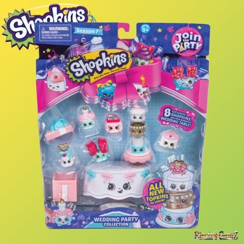 Shopkins Series 7 Wedding Party Collection