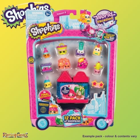 Shopkins Series 8 Final Destination The Americas 12-Pack