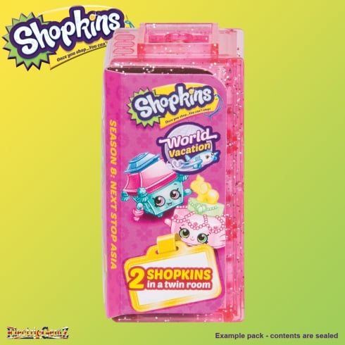 Shopkins Series 8 World Vacation Asia