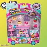 Shopkins World Vacation Deluxe Packs - Petite Sweets Collection