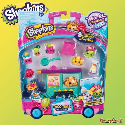 Shopkins World Vacation Taco Time Collection