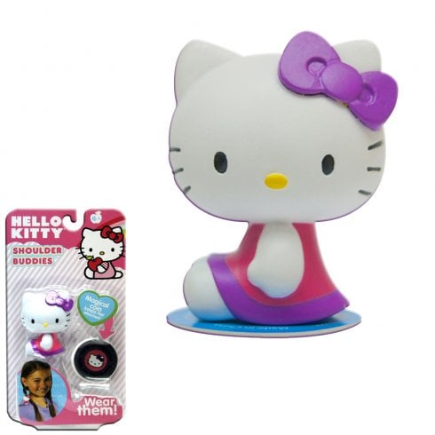 Shoulder Buddies Hello Kitty - Pink with Purple Bow