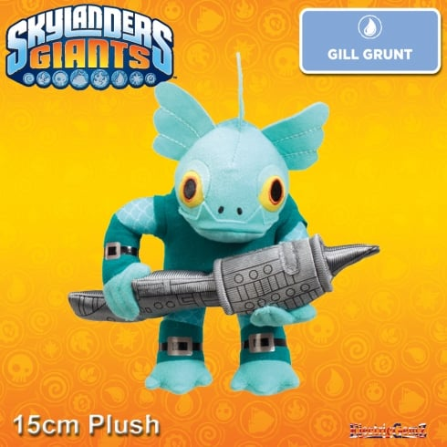 Skylanders Giants 15cm Soft Toy - Gill Grunt