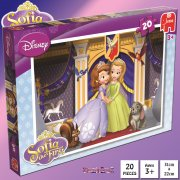 Sofia the First 20-Piece Jigsaw Puzzle - Sofia & Amber